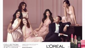 L'Oreal Paris La Vie En Rose campaign image-IANS