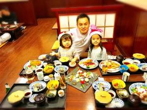 写真:夕食全容