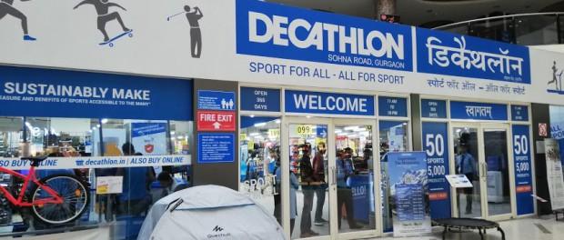インド スポーツ用品 Decathlon