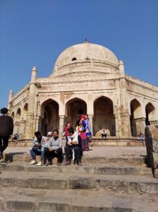 デリー 観光 モスク