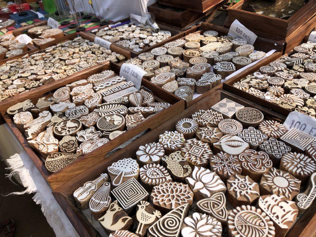 インド 木版 メラ