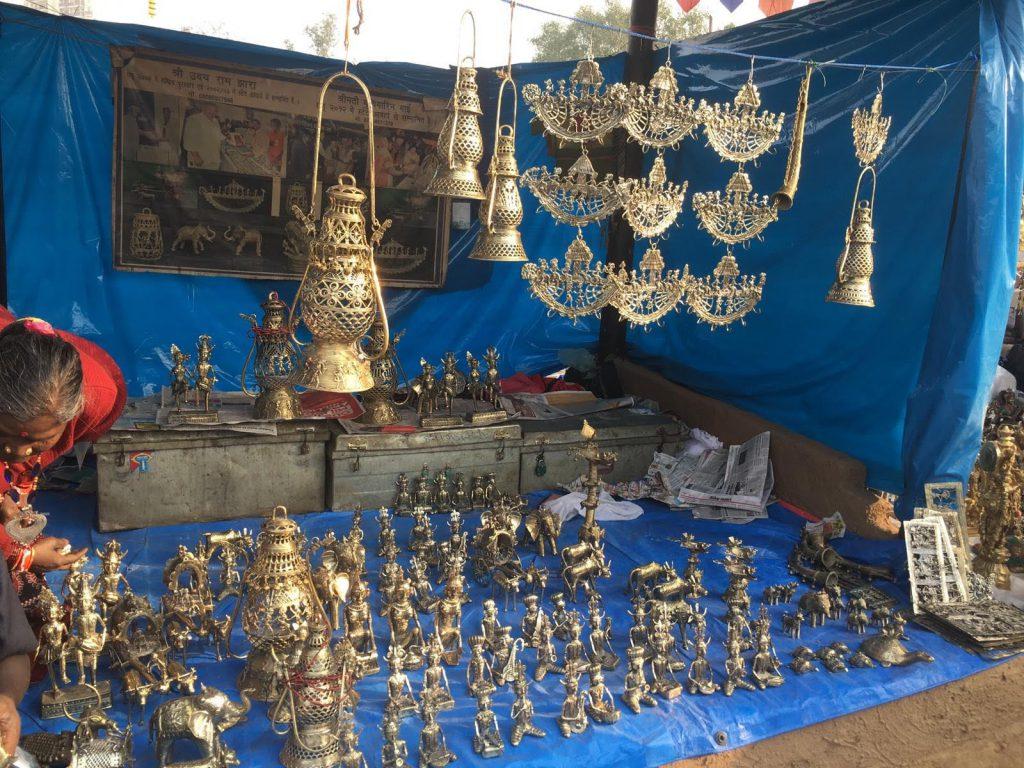 インド 工芸品 メラ